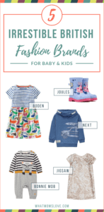 5 Stylish Fashionable British Clothing Brands for Babies and Kids
