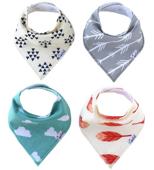 10 Best Gifts for New Baby - Bandana Drool Bibs