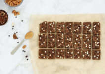 Healthy, No-Bake Chocolate Peanut Butter Snack Bars
