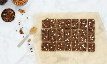 Healthy, No‐Bake Chocolate Peanut Butter Snack Bars