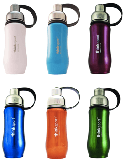 Best water bottles for kids - Thinksport Insulated Sports Bottle lineup