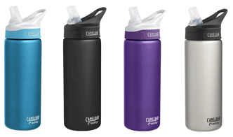 Camelbak Eddy Stainless Water Bottle - ranked as one of our best water bottles for kids