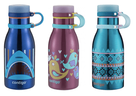 Contigo Thermalock Maddie Stainless Steel Kids Water Bottle - ranked as one of our best water bottles for kids