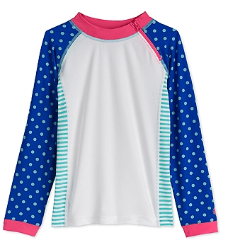 Coolibar Girls' Zippy Rash Guard