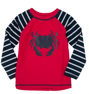 Hatley Crab Boys' Rash Guard