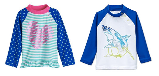 Coolibar Baby Girl/Boy Rash Guard