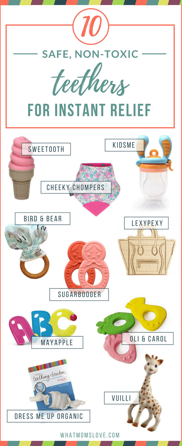 10 Best Teething Toys for Babies