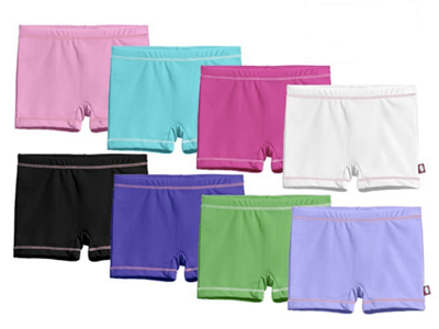City Threads Girls' Swim Boy Short Bottom