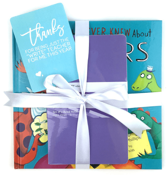 Teacher Gift Printables - Book and Journal