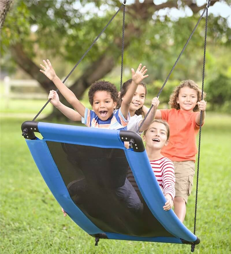 Cool Outdoor Swings for Kids | Summer time activity and boredom busters