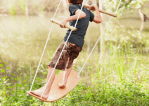8 Outrageously Cool Swings & Hide-Outs That Will Keep Your Kids Outside. All. Summer. Long.