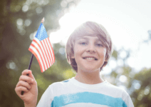Stylish Red, White and Blue Fashion Your Kids' Can Wear On (And After) The 4th Of July.