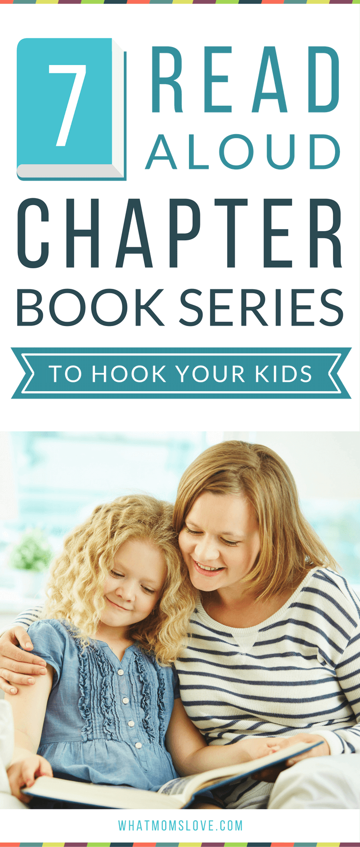 Best Read Aloud Chapter Book Series To Hook Your Kids! These incredible books have lots of pictures and engaging stories - perfect for your preschooler, kindergartner or early reader to listen to.