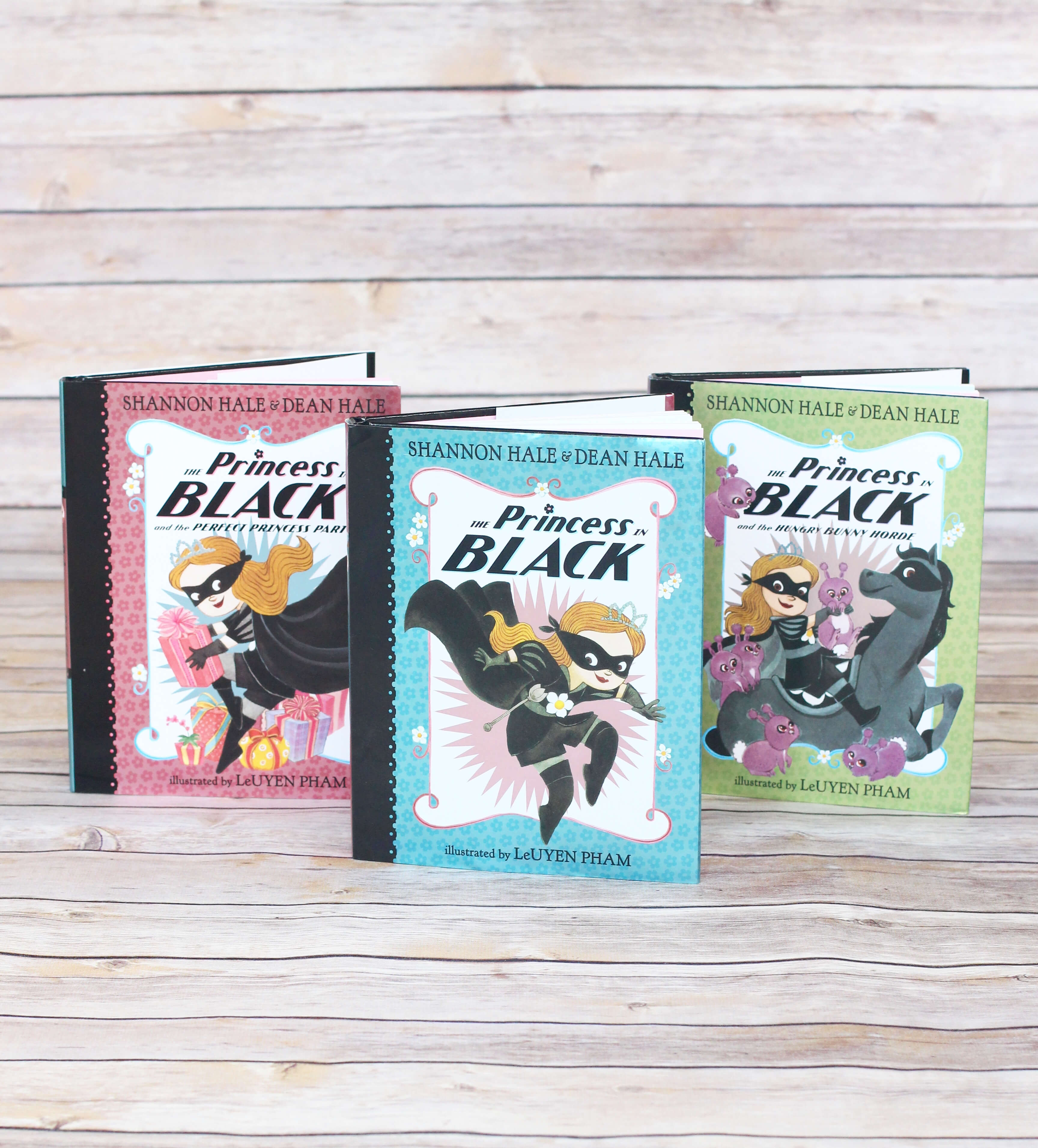 The Princess in Black Series. First Chapter Book to Read Aloud to your preschooler or kindergartener