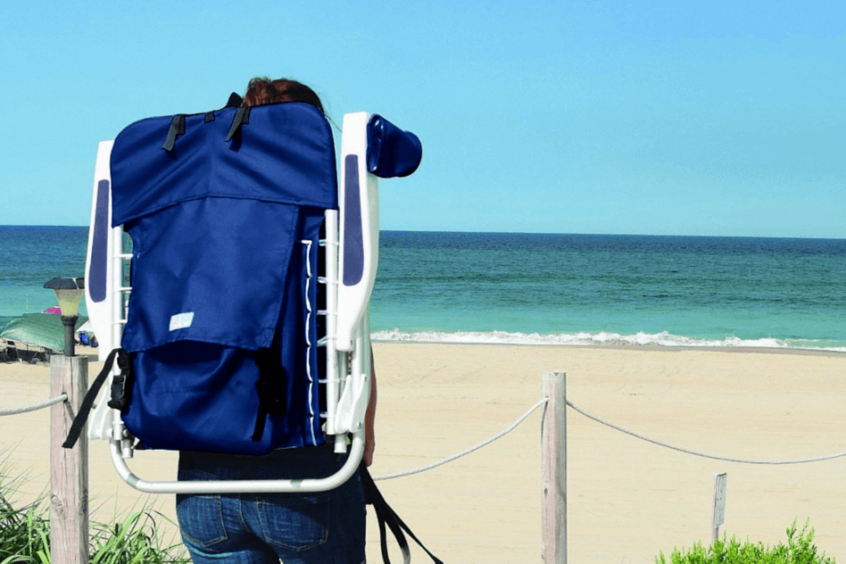 Beach Guide with Kids. Tips and Tricks. Rio Backpack Beach Chair.