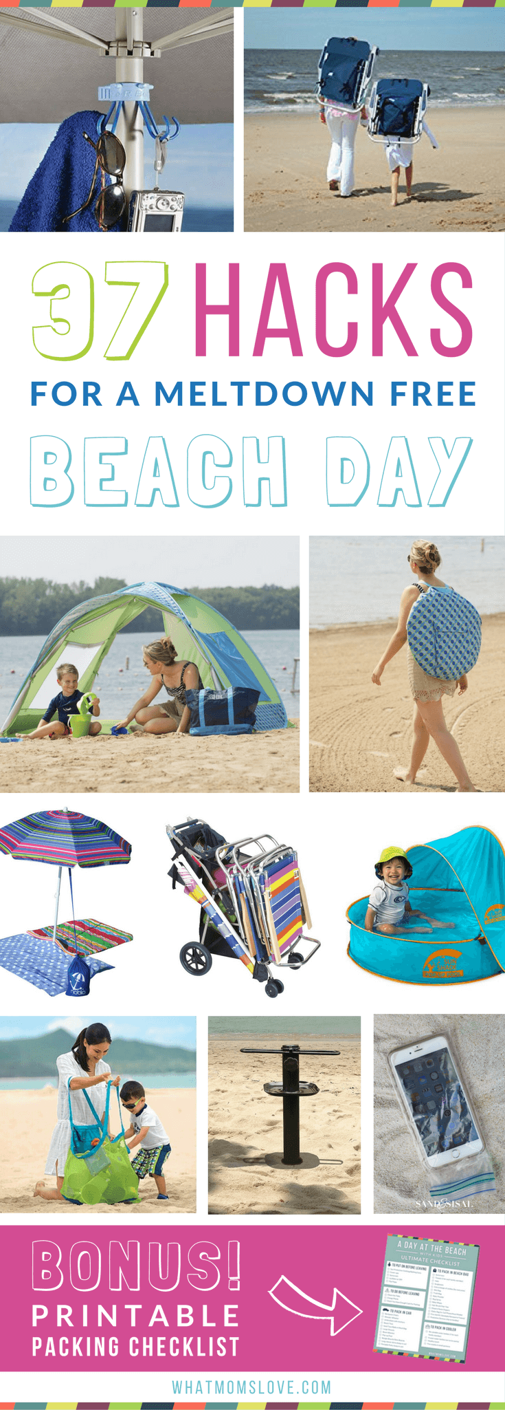 Beach Hacks Tips And Tricks The Best Clever Ideas To Keep Kids Hy At