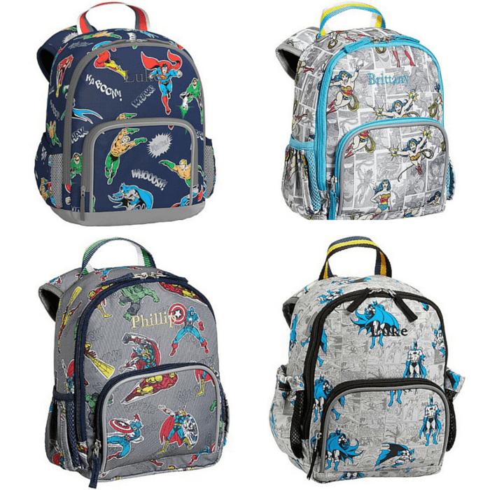 fcb62f8e3b Pottery Barn Kids PreK Superhero Backpacks - what moms love
