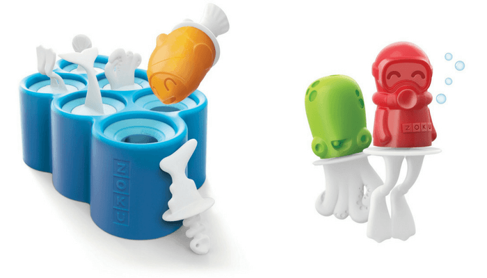Products to Make Eating Fun for Kids. How to Get Picky Eaters to Try New Foods. Zoo Fish Pop Molds.
