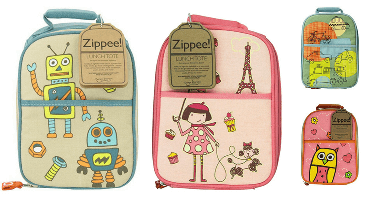 Sugarbooger Zippee! Lunch Tote