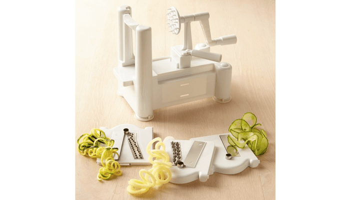 Products to Make Eating Fun for Kids. How to Get Picky Eaters to Try New Foods. Paderno Tri-Blade Spiralizer.