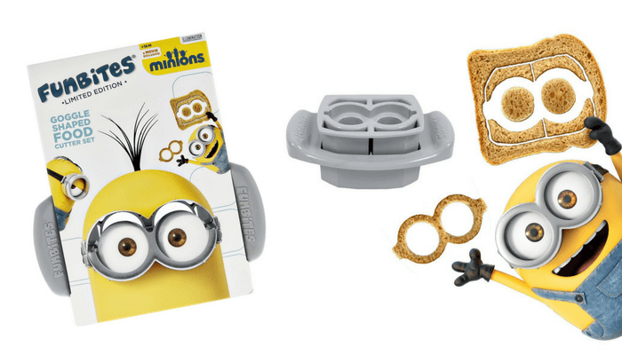 Products to Make Eating Fun for Kids. How to Get Picky Eaters to Try New Foods. Funbites Minion Google Sandwich Cutter.