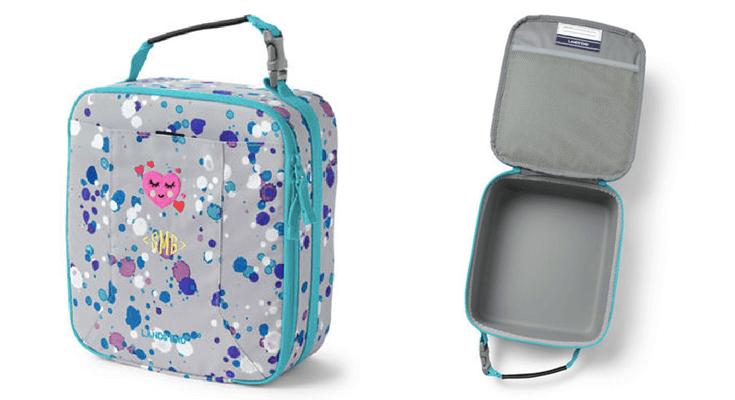 LandsEnd Wipeable Lunch Bag Preschool Supplies Back to School