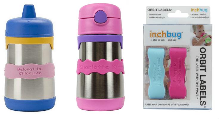 Orbit Label InchBug Preschool Toddler Back to School Supplies