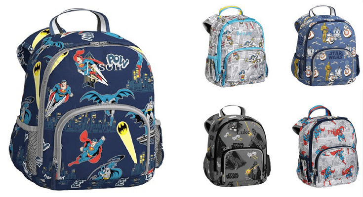 PBK Heroes and Villians backpacks - Best Toddler Backpacks for back to school
