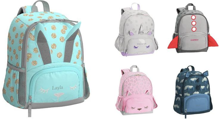 Pottery Barn Kids Mackenzie small backpack - Best Toddler Backpacks for back to school