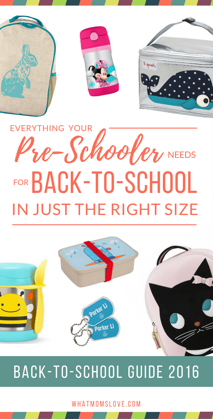 What does a Preschooler need for school  Back to School Guide - what ... 8ba9b5cb0f