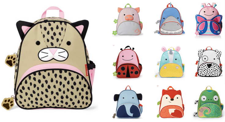 Skip Hop Zoo Backpacks - Best preschool Toddler Backpacks for back to school