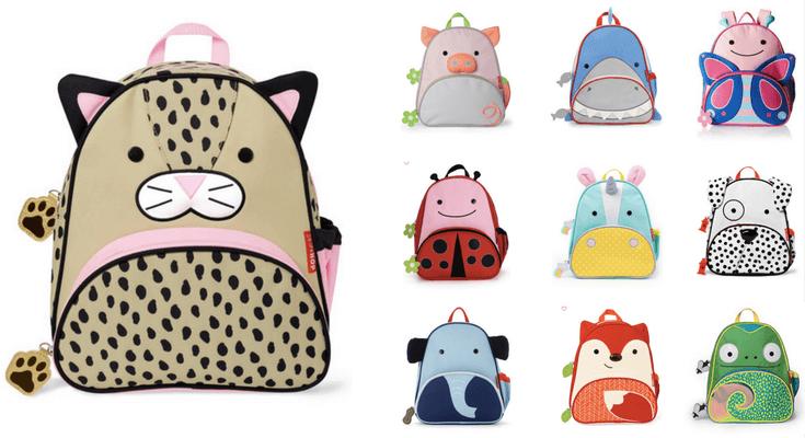 Skip Hop Zoo Backpacks - Best preschool Toddler Backpacks for back to school