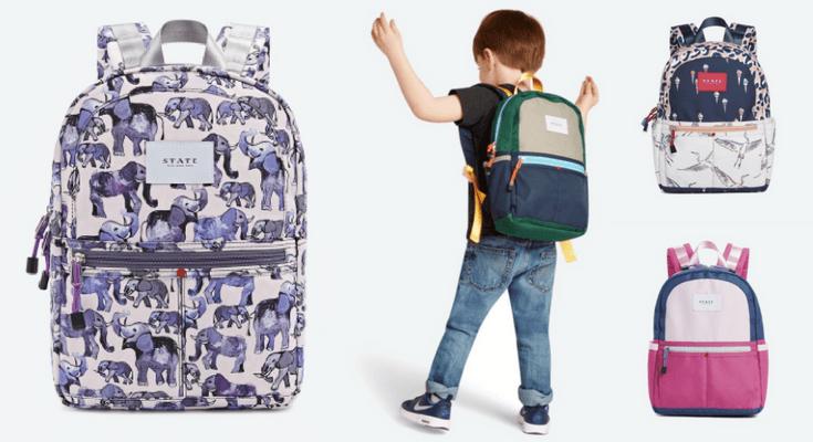 State Mini Kane - Best Preschool Toddler Backpacks for back to school