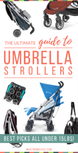 Best Umbrella Strollers Review and Comparison Chart