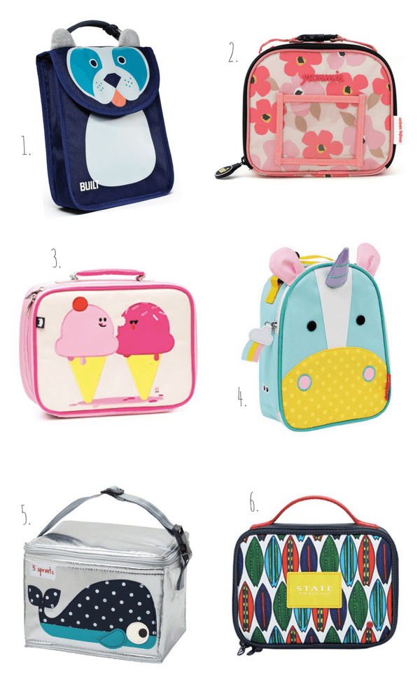 Best Lunch Bags for Preschoolers and Toddlers for Back to School