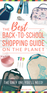Best Back To School Guide - Backpacks, Lunch Bags, Bento Boxes, and more! For Preschoolers, Grade Schoolers, Tweens and Teens