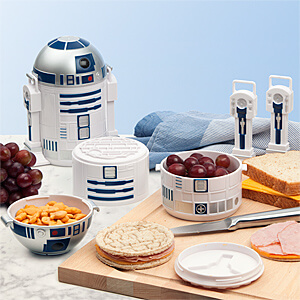 Star Wars R2D2 Bento Box Container for kids back to school lunch
