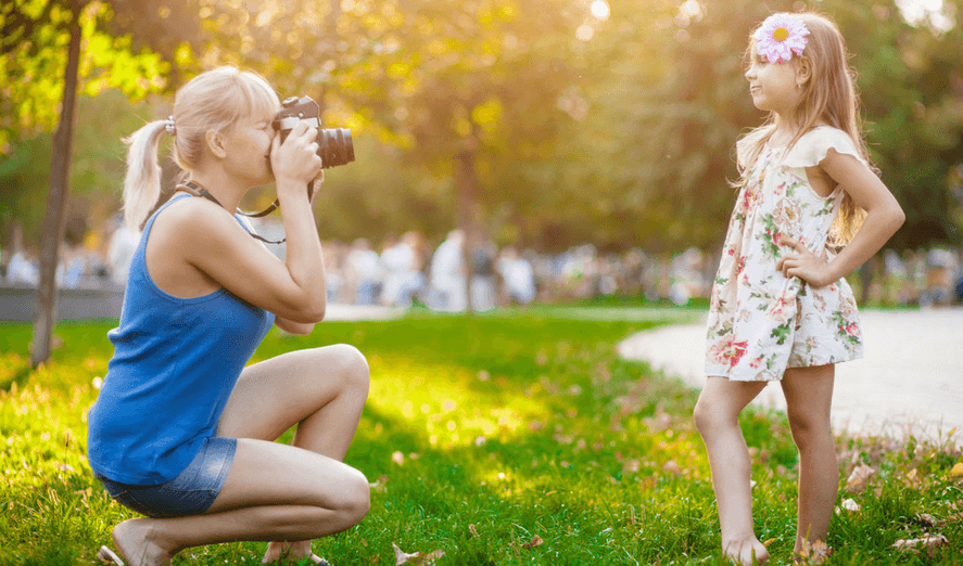 How to get a blurred background when photographing your kids in 4 easy steps you