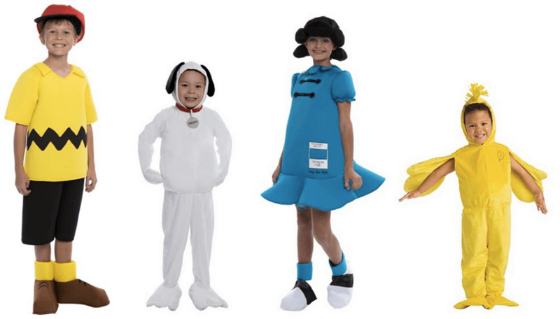 Creative Halloween Costumes for Siblings - Peanuts