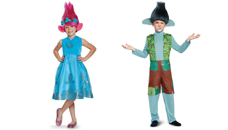 Halloween sibling Costume ideas - trolls
