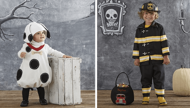 Creative Halloween Costumes for Siblings - Dalmatian and Firefighter