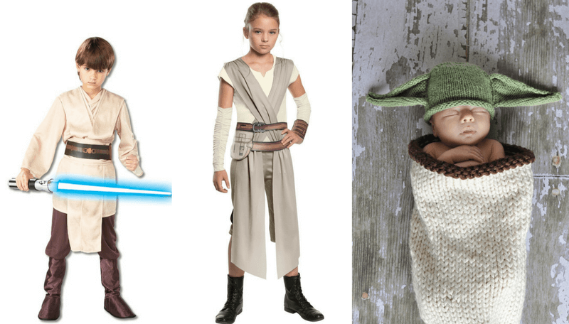 Creative Halloween Costumes for Siblings - Star Wars