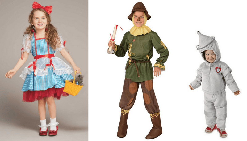 Creative Halloween Costumes for Siblings - Wizard of Oz