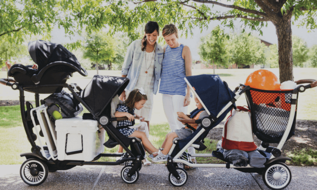 Meet the Austlen Entourage. The Convertible Stroller That Carries Everything (So You Don't Have To).
