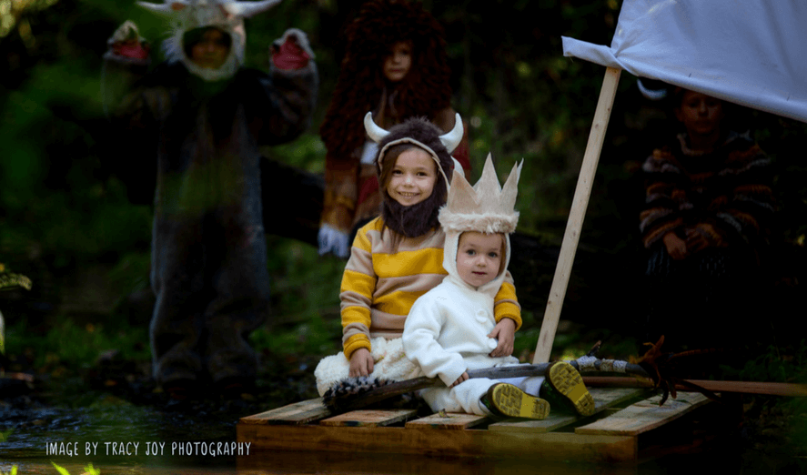 creative sibling halloween costumes ideas where the wild things are
