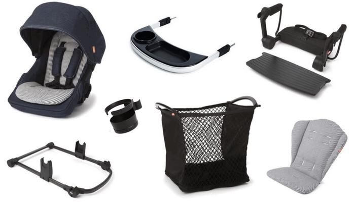 Austlen Entourage Stroller Review. Additional accessories.