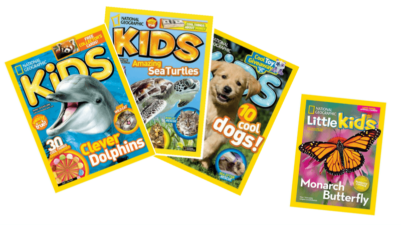 Best Magazines for Kids - National Geographic
