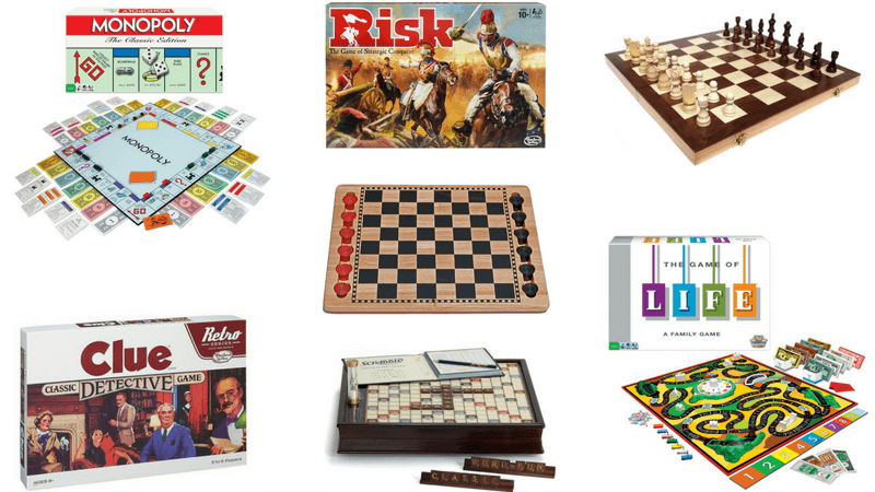 Best Non-Toy Gift Guide for Kids - Classic Games