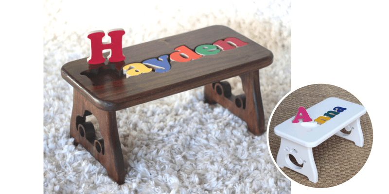 Best Non-Toy Gifts for Kids - personalized step stool
