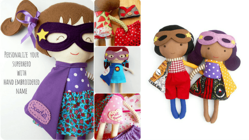 Gift Guide Best Toys for Doll Lovers - La Loba Handmade Dolls